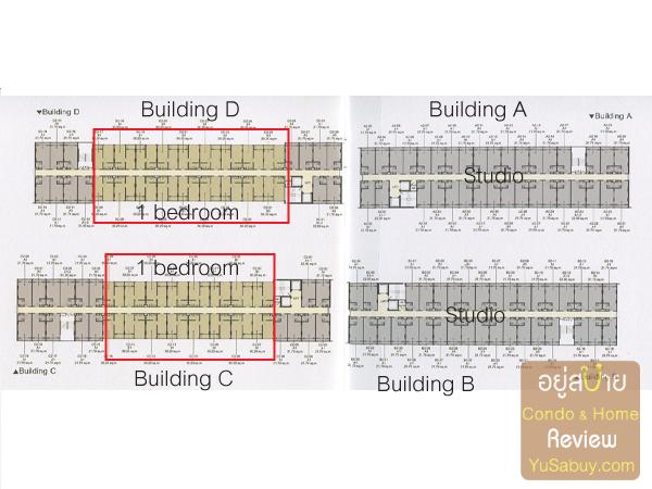 Floor Plan โครงการ Elio Condo สุขุมวิท64