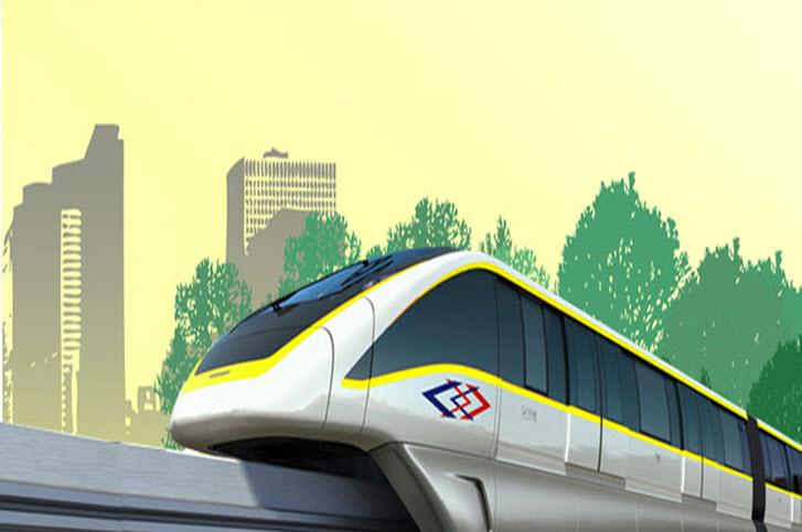 รถไฟฟ้าโมโนเรลสายสีเหลือง ลาดพร้าว สำโรง