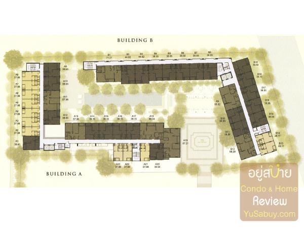 Floor Plan คอนโด The Reserve เกษมสันต์3