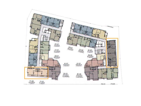 Floor Plan Siamese ไซมิส นางลิ้นจี่ ชั้น 7-8