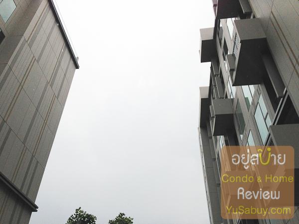 ถ่ายให้ดูระยะห่างระหว่างตึก A กับ ตึก B