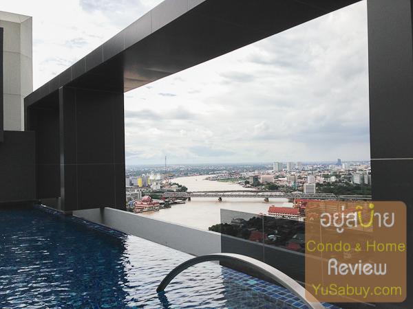 Infinity Edge Pool กับโค้งแม่น้ำเจ้าพระยา