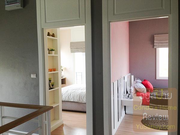 ออกมาจากห้องนอนใหญ่  ไปดูห้องนอนเล็กอีก 2 ห้องกันบ้างครับ