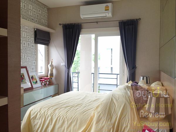 ห้องนอนเล็กด้านหน้า  สเปซก็แบบเดียวกับแบบ Ixora