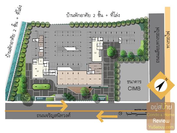 ผังโครงการ Ideo Mobi Charun-Interchange (ไอดีโอ โมบิ จรัญ-อินเตอร์เชนจ์)