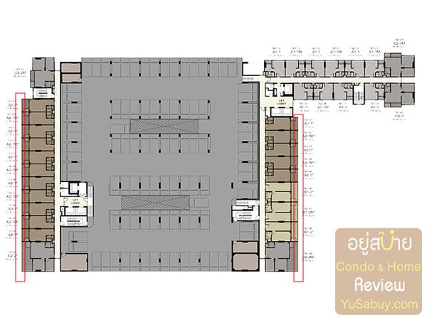 แปลนคอนโด Ideo Mobi Charun-Interchange (ไอดีโอ โมบิ จรัญ-อินเตอร์เชนจ์) ชั้น 4