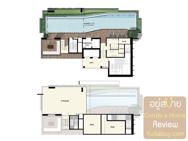 Floor Plan คอนโด Ideo Q ราชเทวี ชั้น 37