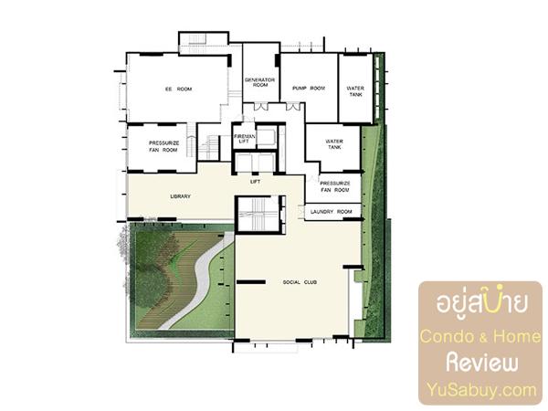 Floor Plan คอนโด Ideo Q ราชเทวี ชั้น 8