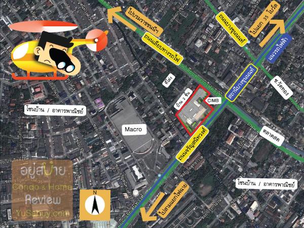แผนที่และสถานที่รอบๆคอนโด Ideo Mobi Charun-Interchange (ไอดีโอ โมบิ จรัญ-อินเตอร์เชนจ์)