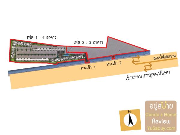 ผังโครงการ Plum Condo Bangyai Station (พลัมคอนโด บางใหญ่สเตชั่น)