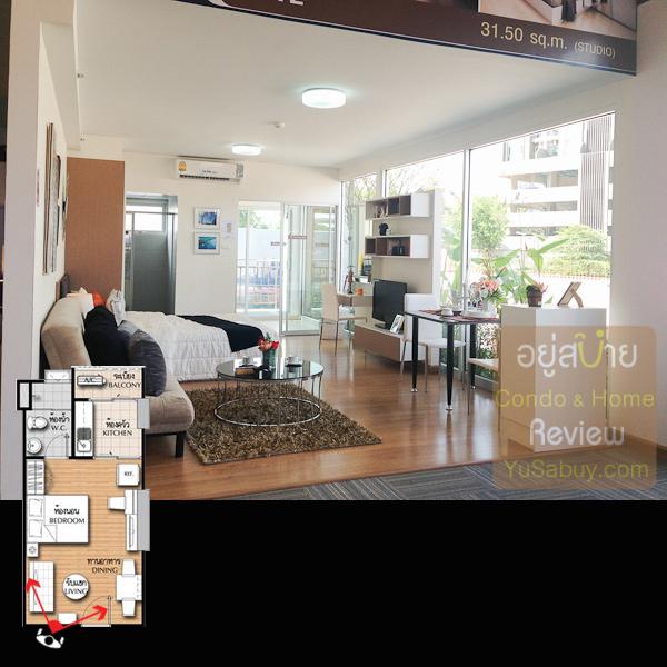 เป็นภาพรวมของห้องนะครับ ของจริงต้องคิดเผื่อเอาไว้ว่าผนังกระจกด้านขวามือจะเป็นผนังทึบ